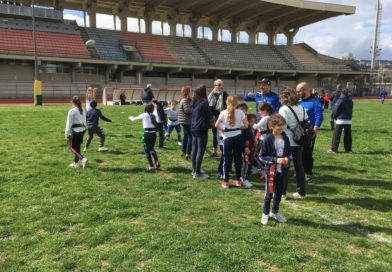 """Oltre 70 famiglie al Tomaselli con il progetto scuola """"Rugby x Tutti"""": palla ovale e valori, ricetta vincente"""