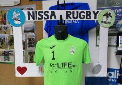 Nissa, mini rugby: maglie sponsorizzate da For Life Kid