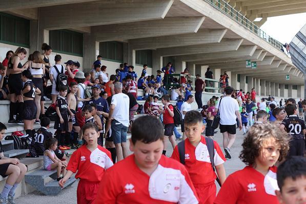 Caltanissetta, Festival regionale del MiniRugby e trofeo Coni: gioioso successo con 400 bambini