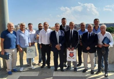 """Catania, accoglienza calorosa per il presidente Gavazzi: """"Supporteremo il rugby siciliano"""""""