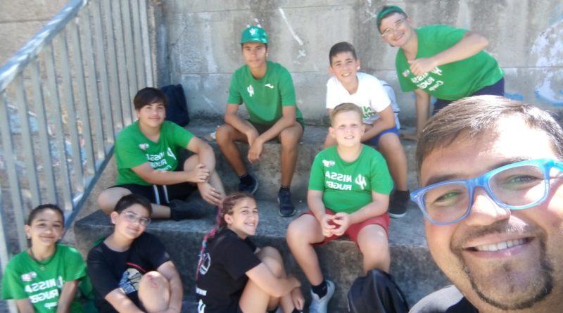 """DLF Nissa Rugby: campus estivo strepitoso. Padre Alfonso Cammarata: """"Evento eccellente per rendere i ragazzi forti e coraggiosi"""""""